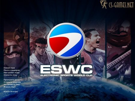 Фон Counter-Strike 1.6 ESWC