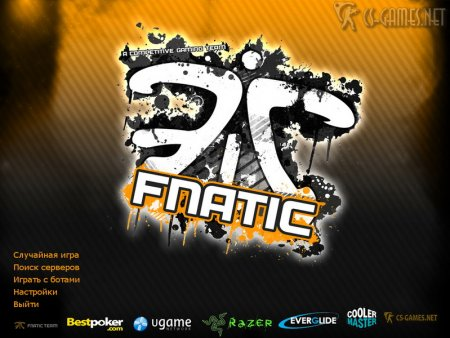 Фон CS 1.6 от Fnatic