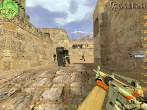 M4A1 Counter-Strike 1.6 Asiimov