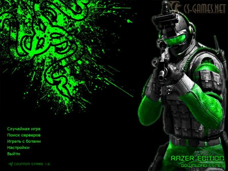 Фон Counter-Strike 1.6 Razer