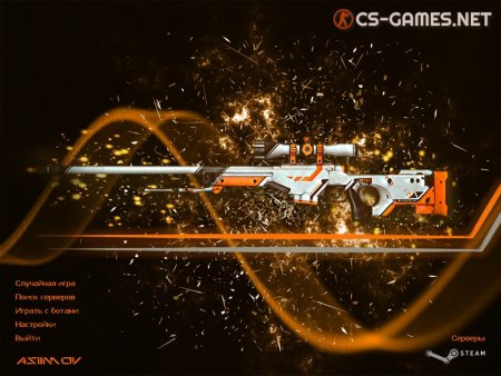 Фон Counter-Strike 1.6 Asiimov