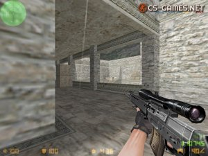 SG-550 Sniper Rifle Counter Strike 1.6 nEXT v43