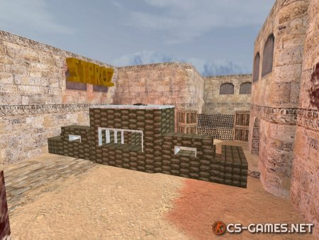 Карта «zm_dust2_new» для CS 1.6